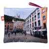 Pochette 20x16 cm, collection Lyon Bellecour Fourviere, place Saint Jeandesign Nappe Vegetale