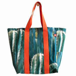 Grand sac cabas de plage Cactus by Nappe Vegetale
