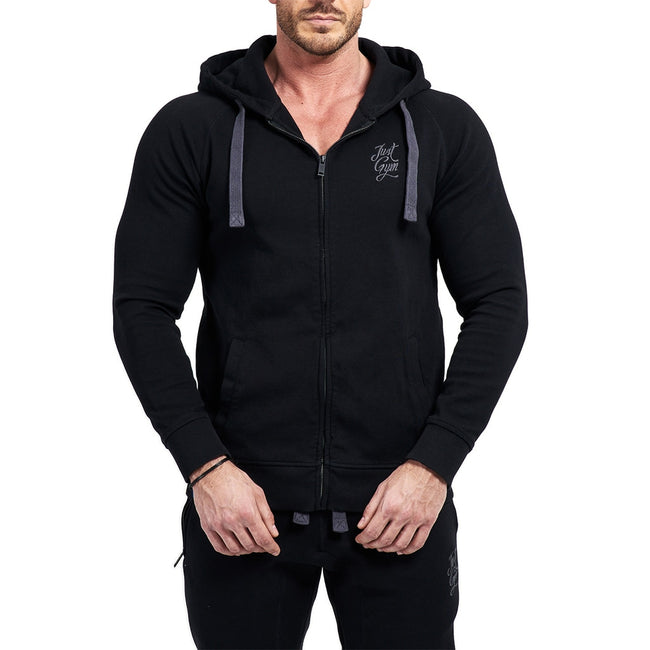 JustGym Zipper - black
