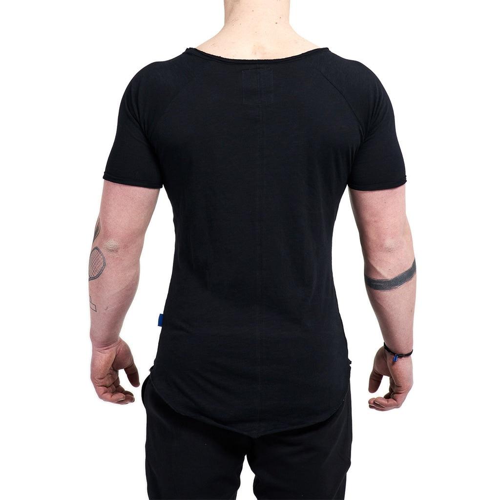 JustGym T-Shirt Long - black