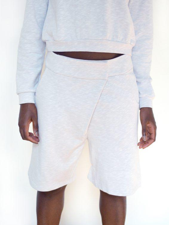 Asymmetric Boxing Shorts from Noumenon