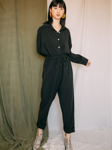 Wrap Jumpsuit - Mist