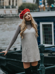 carrie dress vegan fashion