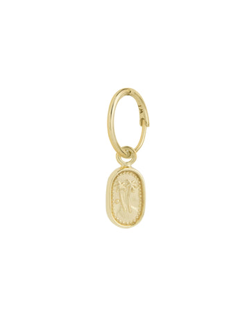 Feeling Peachy Earring - Gold