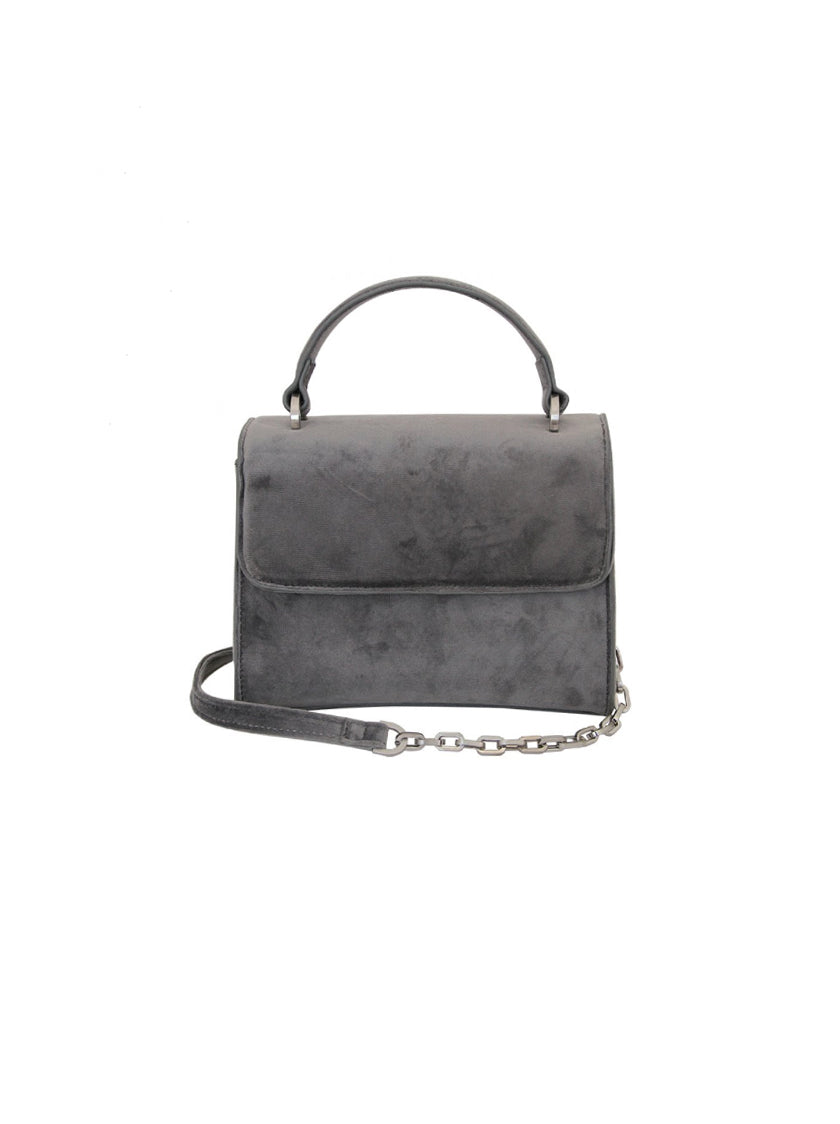 Mini Handle Bag - Velvet Grey