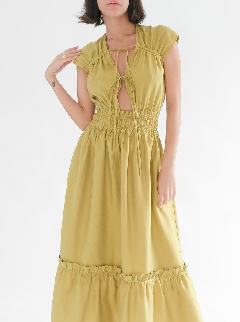 Winona Dress - Olive