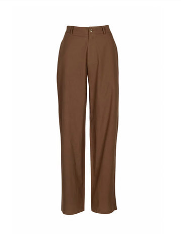 Boiler Suit Jumpsuit - Rust