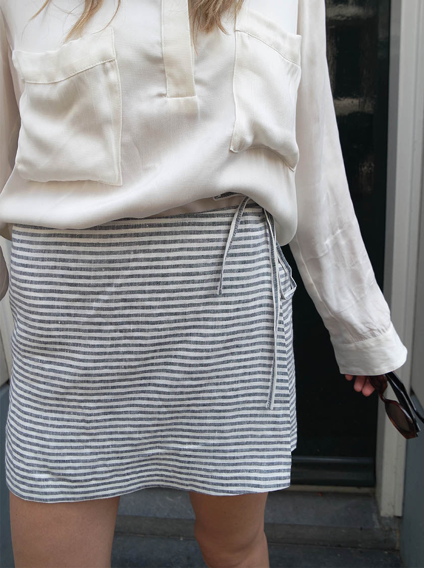 Striped Robin Shorts