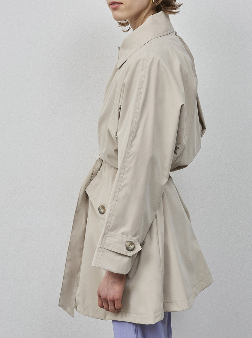 WELLINGTON COAT - TAUPE