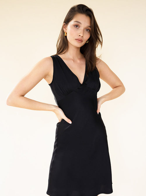 ETTA LITTLE BLACK DRESS - NOIR