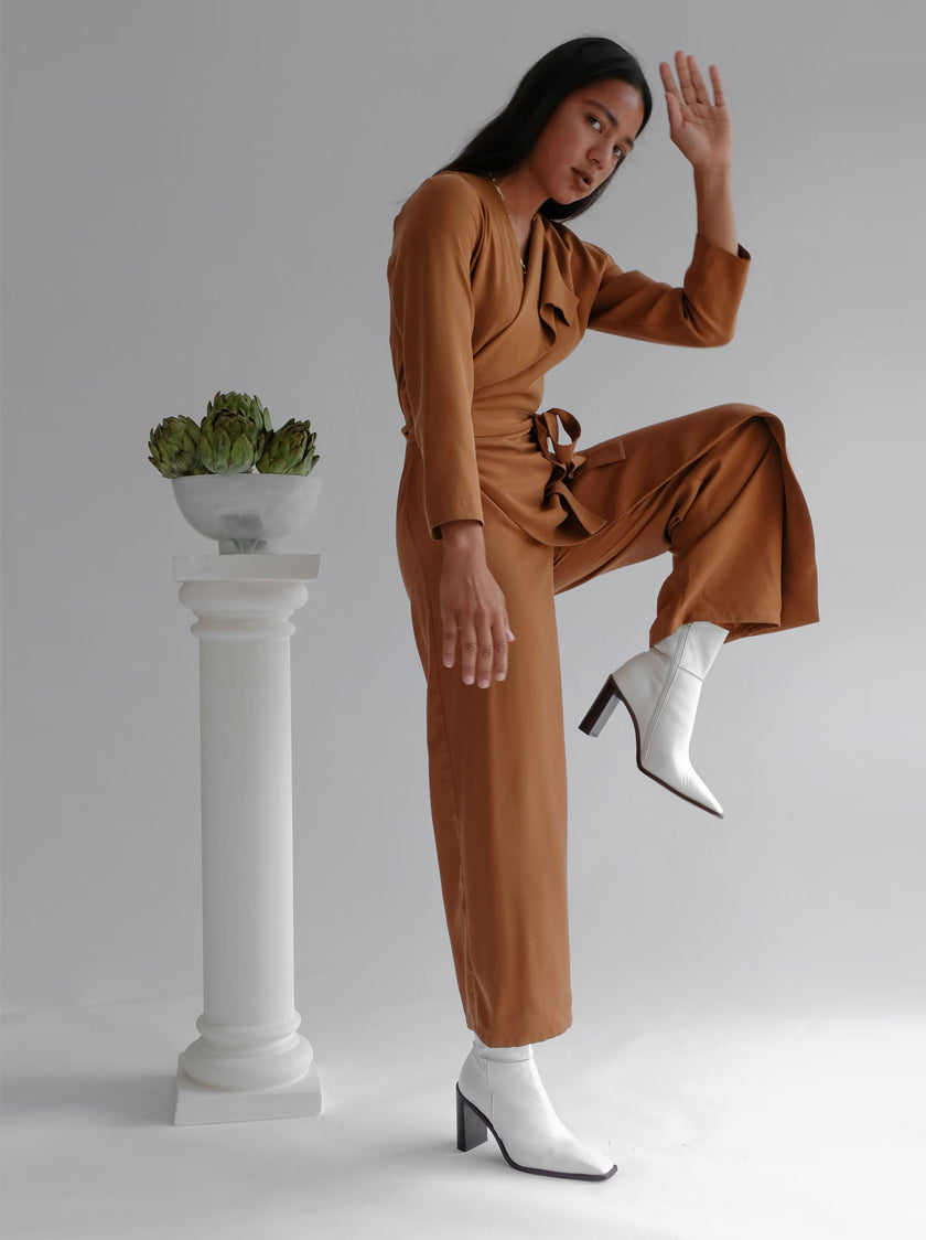 Wednesday Jumpsuit - Brown