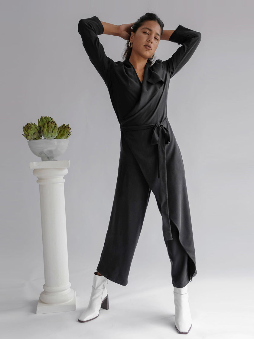 Wednesday Jumpsuit - Black