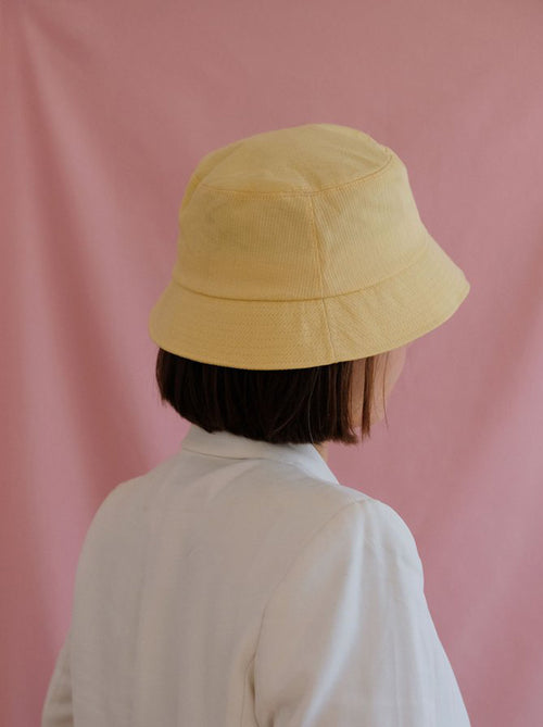 Sunshine Yellow Bucket Hat