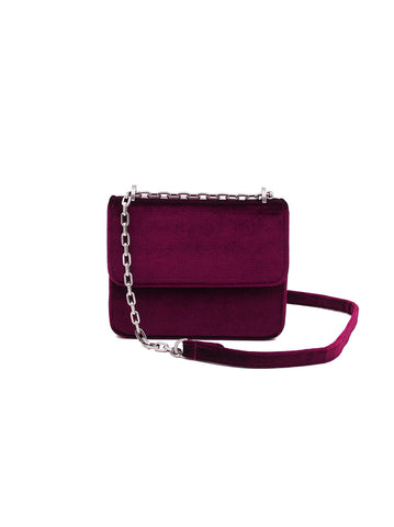 Mini Handle Bag - Velvet Blue