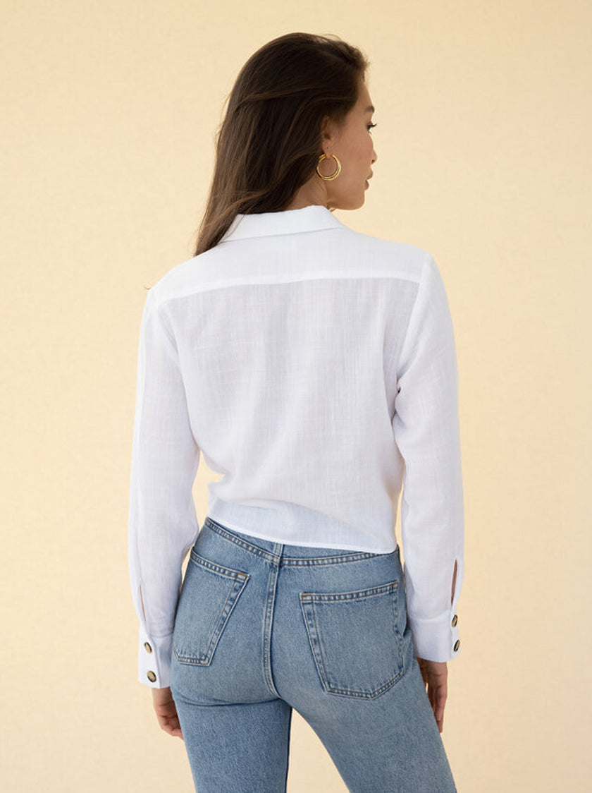 Sabine Shirt - White