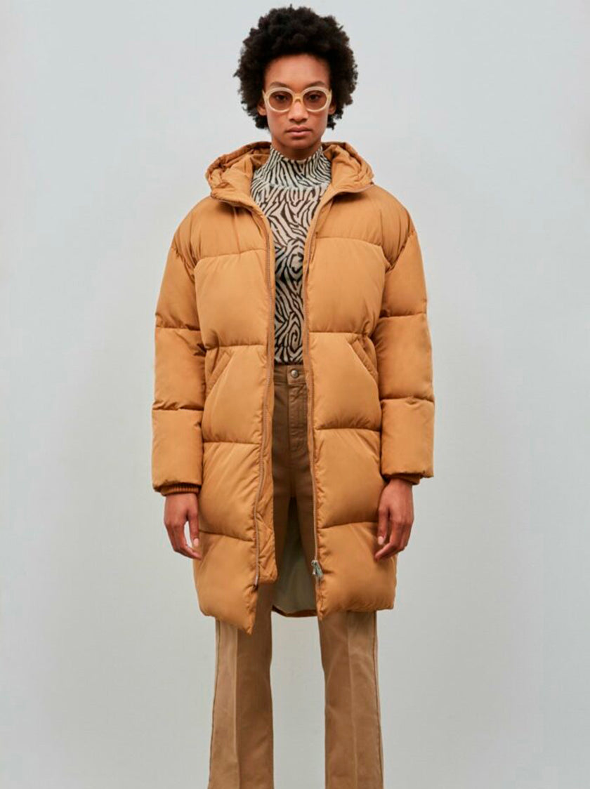 ELPHIN - Brown Sugar Puffer Jacket