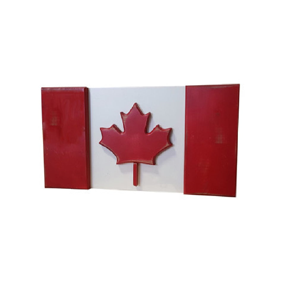 NAAV 100 Canada Flag Vintage Berry with Vintage White Finish