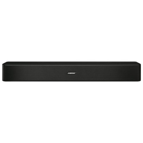 NEW- Bose Solo 5 TV Sound System Black Soundbar with Remote Control