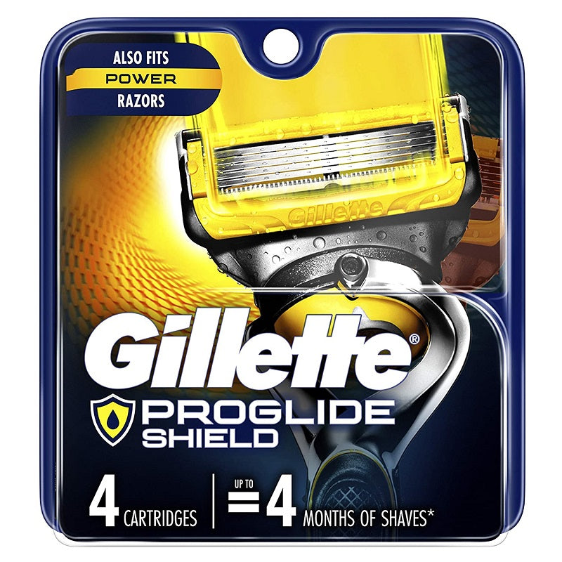 Gillette ProShield Men's Razor Blades, Cartridges 4 Count (Packaging May Vary)