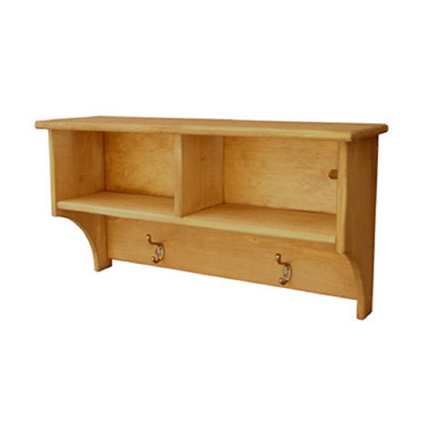 NAAV-263 2-Cube Cubby Shelf Authentic Canadian Made Rustic Furniture