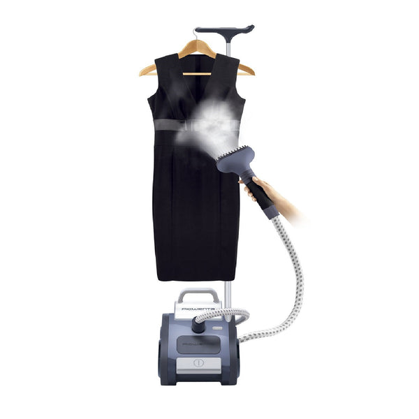 Rowenta Precision Valet Garment Steamer with Foot Operated, 1550-Watt, GS6020U1 (Blemished Packaging -manufacturer Refurbished - Open Box -Good as new)
