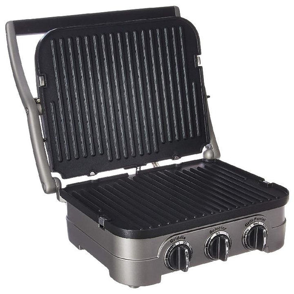 Cuisinart Gourmet 5-in-1 Griddle Griddler Panini Sandwich Press GRID-10IHR Multifunctional