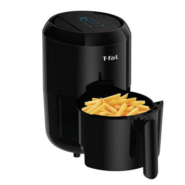 T-Fal EY301850 Easy Fry Compact Duo Precision 1.6L Air Fryer, Black