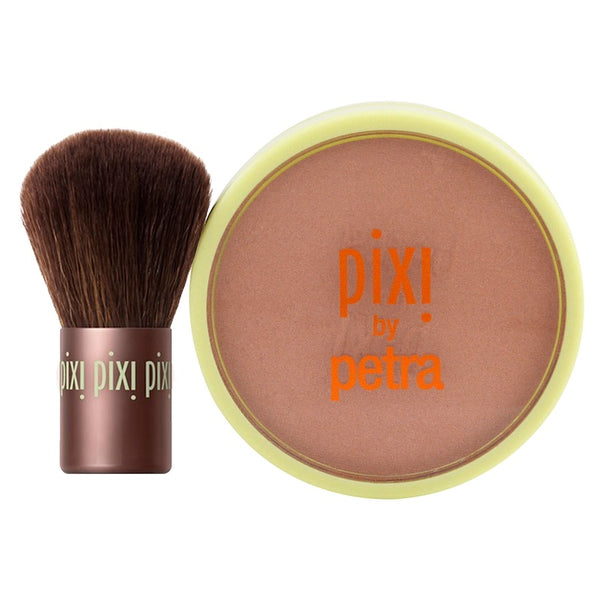 New Pixi Beauty Bronzer + Kabuki Subtly Suntouched 0.36 oz
