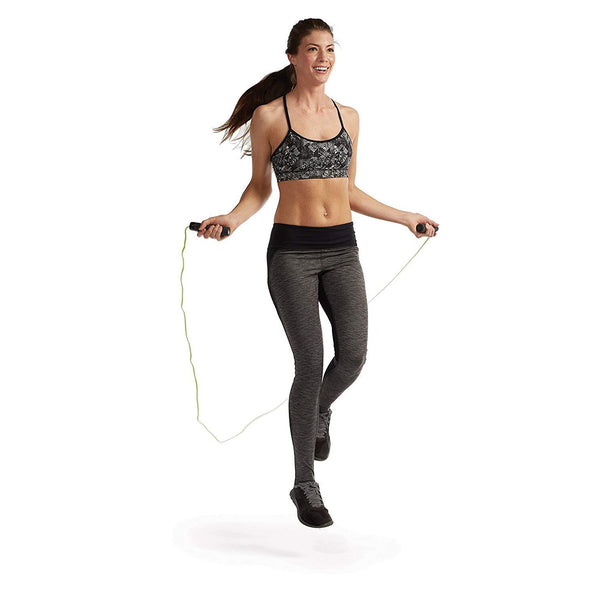 Gaiam Adjustable Speed Fitness YOGA Jump Rope 9 Feet Long;  Pack of 2