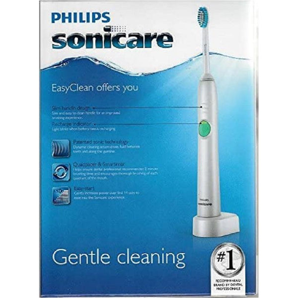 Valentine Day Special Combo (Philips Sonicare EasyClean Sonic Electric Rechargeable Toothbrush - HX6512/55 with Tescom TID422U Negative Ions Hair Dryer, Pink - 120V 1300W )