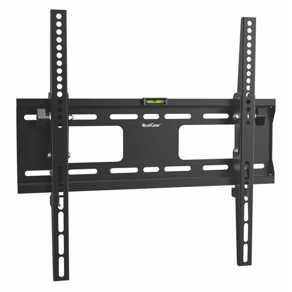 QualGear QG-TM-T-015 Universal Low Profile Tilting TV Wall Mount for 32-55 Inches LED TV, Black
