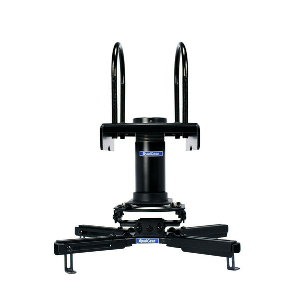 "QualGear® Pro-AV QG-KIT-TA-3IN-B  3""-1.5"" Projector Mount Truss Ceiling Adapter"