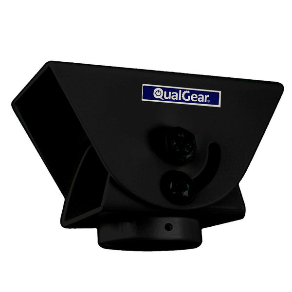"QualGear® QG-PRO-PM-VCA-B Pro-AV 1.5"" Pipe Ceiling Adapter Projector Accessory"