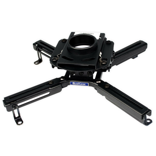 QualGear® Model #QG-PRO-PM-50-B pro-AV Projector Mount Feature Easy Installation