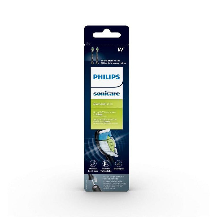Philips Sonicare W Diamond Clean Standard Sonic Replacement Toothbrush Heads HX6062/90
