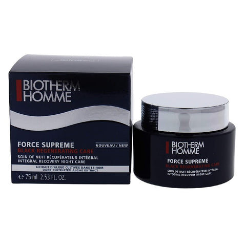 Biotherm Force Supreme Black Regenerating Care Anti-Ageing Night Cream, 75 ml