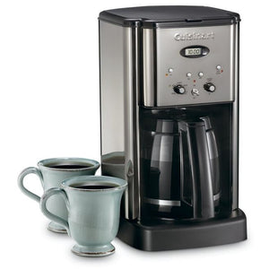 Cuisinart DCC-1200BCHC Brew Central 12-Cup Programmable Coffeemaker, Black Chrome