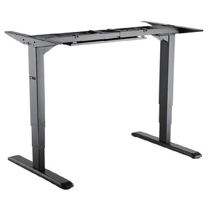 Star Ergonomics 3 Stage Reverse Dual Motor Electric Sit-Stand Desk Frame – SE06E1FB [Tabletop Not Included]