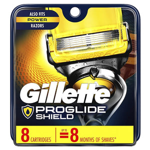 Gillette ProGlide Shield Men's Razor Blade Refills Cartridges, 8 ct