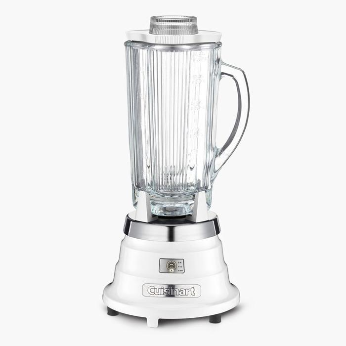 Cuisinart CBB-550WC Classic Bar Blender-White 750 Peak Watt Motor & Ultra-Sharp Stainless Blades