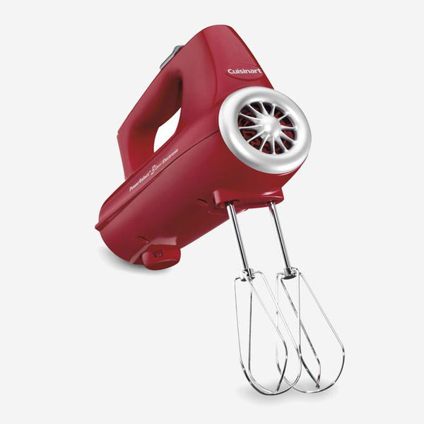 Cuisinart (CHM-3RC) 3 Speed Electronic Hand Mixer 220-Watts