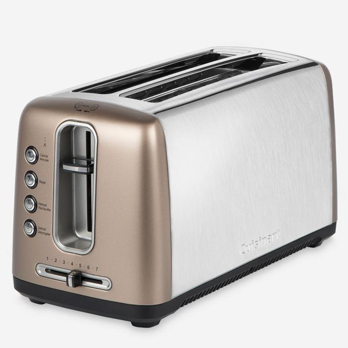 Cuisinart CPT-2400UMBC The Bakery Artisan Bread Toaster (Long-Slot) - Umber