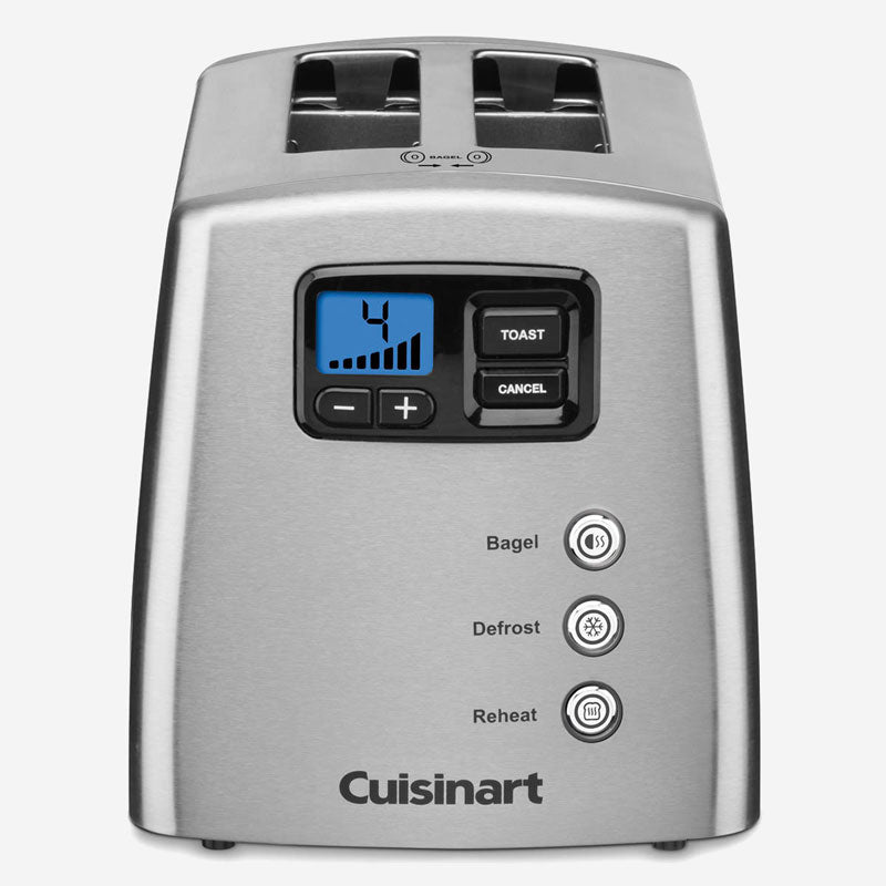 Cuisinart CPT-420IHR Countdown Lever-Less 2-Slice Toaster