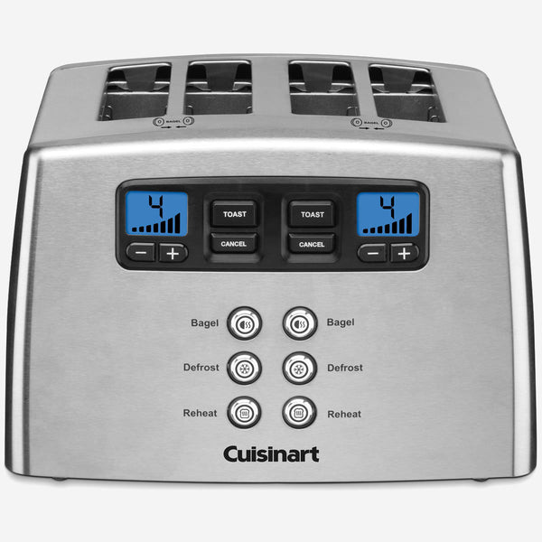 Cuisinart CPT-440IHR Countdown Lever-Less 4-Slice Toaster (Refurbished)