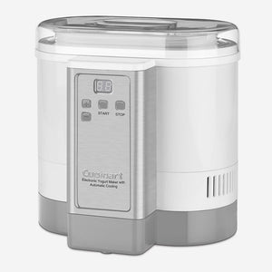 Cuisinart CYM-100IHR Electronic Yogurt Maker With Automatic Cooling