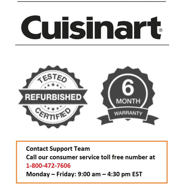 Cuisinart (CPT-415IHR) 2-Slice Countdown Metal Toaster (Refurbished)