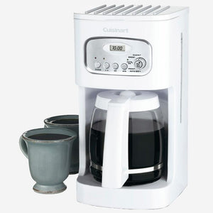 Cuisinart (DCC-1100IHR) 12-Cup Classic Programmable Coffeemaker - White (Refurbished)