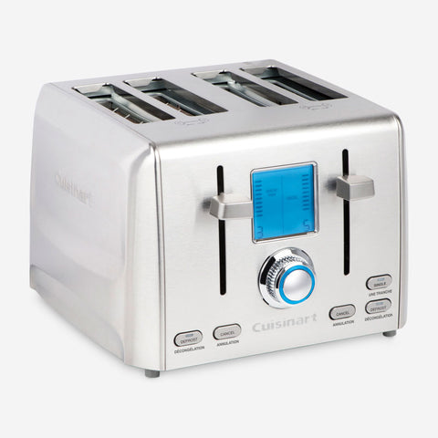 Cuisinart RBT-1280IHR Refurbished Precision 4-Slice Toaster Comes With 6 Months Direct Cuisinart Warranty