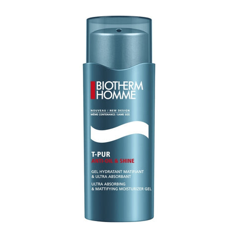 Biotherm Homme T-Pur Anti Oil & Shine Ultra Absorbing & Mattifying Moisturizer Gel 50ml