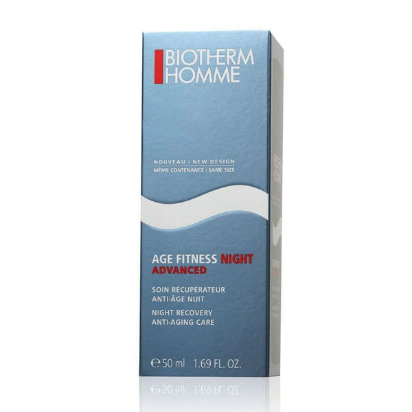 Biotherm Homme Age Fitness Advanced Night Moisturizer Recovery Anti-Aging Care 50ml